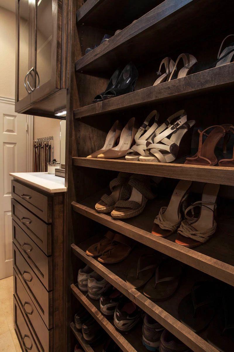 Custom made closet in Plano, TX