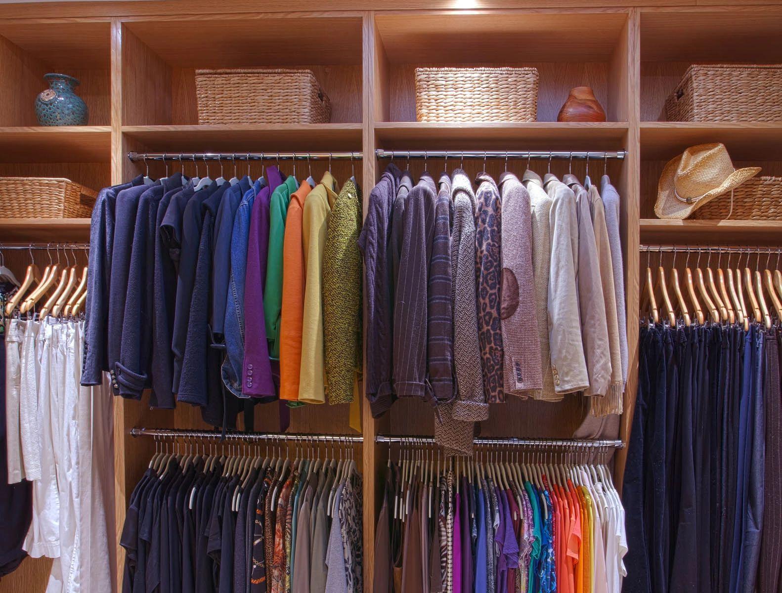Custom closet design in North Dallas