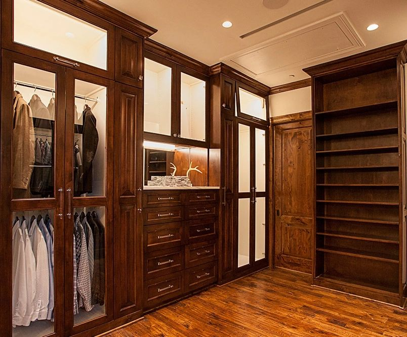 His And Hers Walk In Closet luxury walk in closet dallas / westlake his & hers / the couture